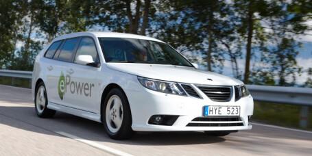 Lydløs fart i sjelden Saab