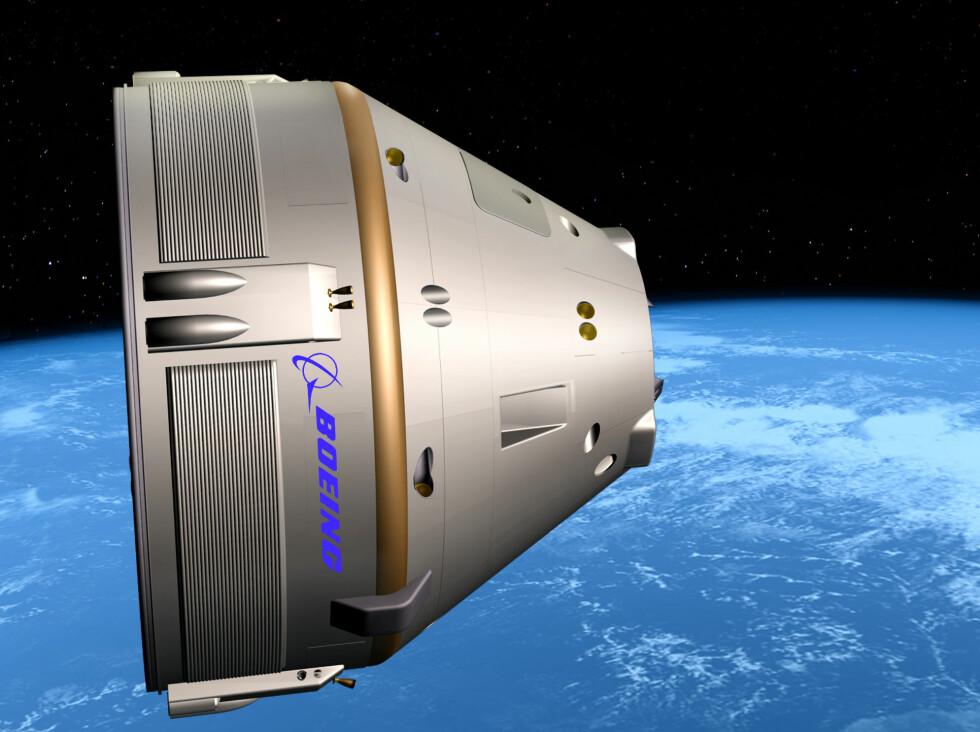 Boeings nye romkapsel for astronauter og romturister: CST-100 Foto: Boeing