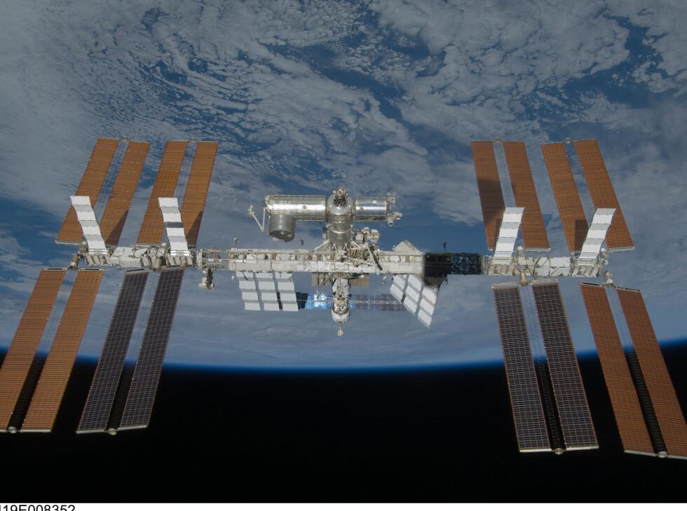 Det er sannsynligvis hit de vil ta deg, til den internasjonale romstasjonen (ISS) Foto: Boeing