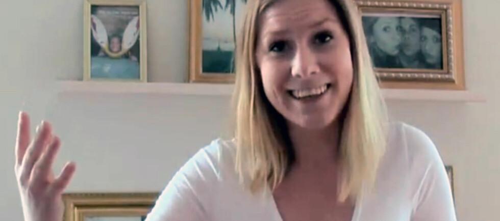FIKK JOBB: Svenske Anna Krigsman Simonsen la ut en svært kreativ cv på Youtube. Nå har hun jobb og har fått flere jobbtilbud. Foto: Youtube