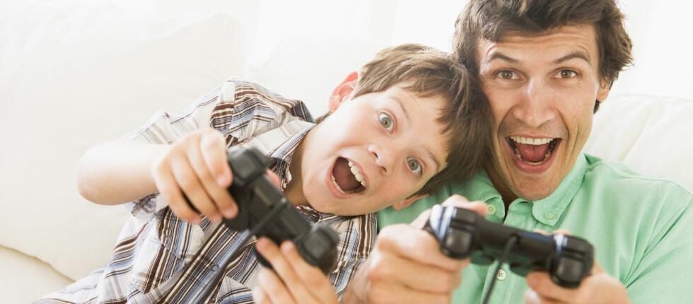 Actionfylte dataspill gjør deg mer oppmerksom på det som skjer rundt deg, og du får også bedre reaksjonsevne, ifølge en fersk studie. Foto: Panther Media