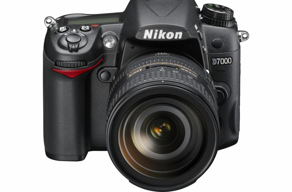 D7000 er Nikons sist annonserte kamera. Foto: Nikon