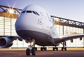 A380 kommer i ettermiddag