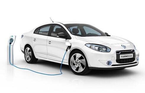 Renault Fluence Z.E. lanseres neste år.