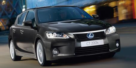 Lexus med rekordlavt forbruk