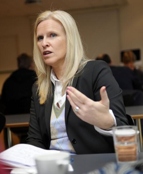 Forbrukerøkonom Sidsel Sodefjed Jørgensen i DnB NOR Foto: DnB NOR