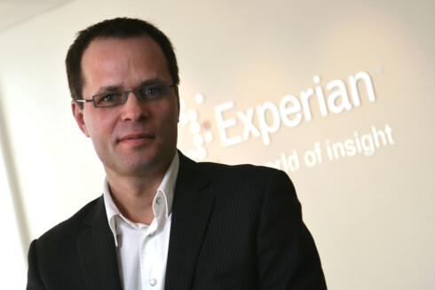 Direktør Gabor Molnar i Experian  Foto: Kaia Means
