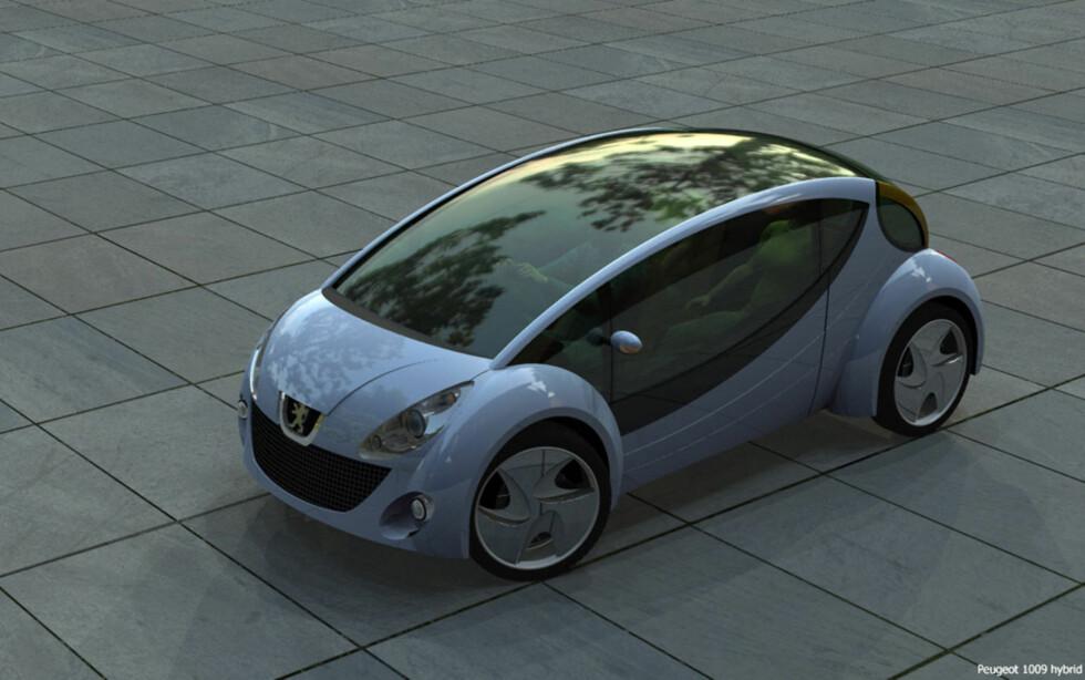 Peugeot 1009 - konsept Foto: Edwin van der Mark