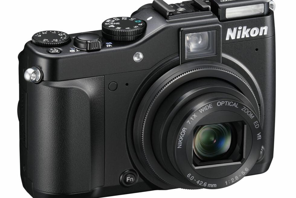 Nikon CoolPix P7000 er selskapets nye toppmodell i kompaktkamerasegmentet. Foto: Nikon