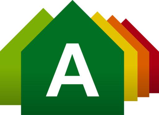 Alle norske boliger som selges eller leies ut må nå ha et eget energisertifikat, der boligen energimerkes på en skala fra A til G.  Foto: Energimerking.no