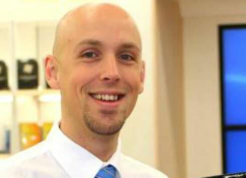 André Hesselroth, salgsjef i Elkjøp Foto: Elkjøp