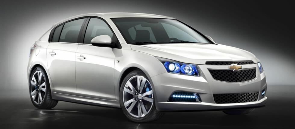 Chevrolet viser ny kompaktmodell for Europa