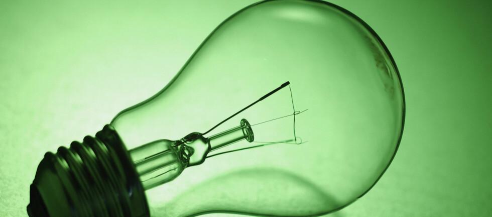 Nå er det ikke lenger tillatt å selge glødelamper på 75 watt og over i EU-landene. Og Norge. Foto: Colourbox.com