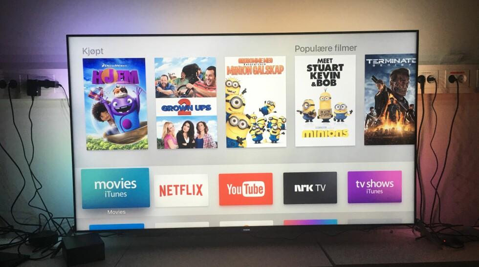 Syv ting du kan gjøre med nye Apple TV