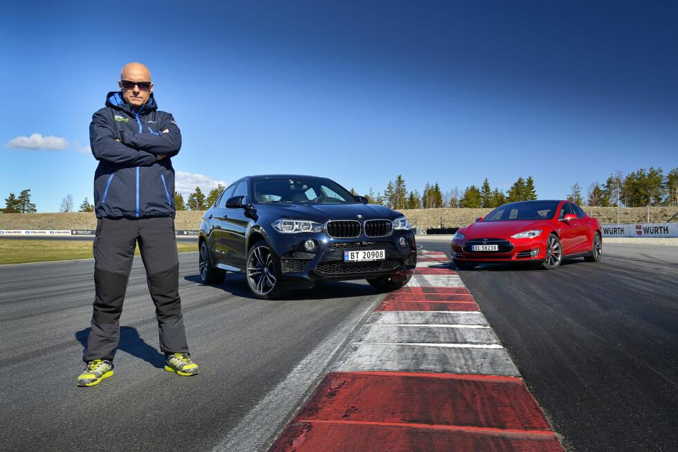 <strong><b>NORGES RÅESTE:</strong></b>Testsjåfør og dagens mann er Tommy Rustad. Kanskje Norges aller beste racingsjåfør!  Foto: JAMIESON POTHECARY