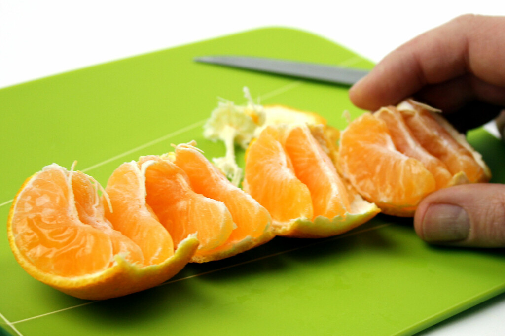 <b>RULL DEN UT:</b> Lettere med klementiner enn appelsiner. Foto: OLE PETTER BAUGERØD STOKKE