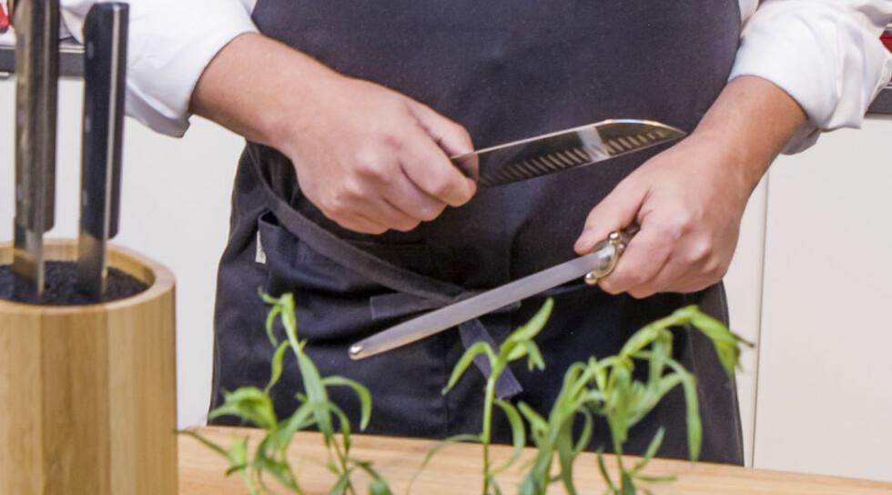 Slik skjerper du kniven din