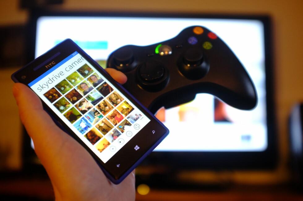 LETT  Å BRUKE: Du er i gang med Skydrive på Xbox 360 i løpet av få minutter. Foto: Ole Petter Baugerød Stokke