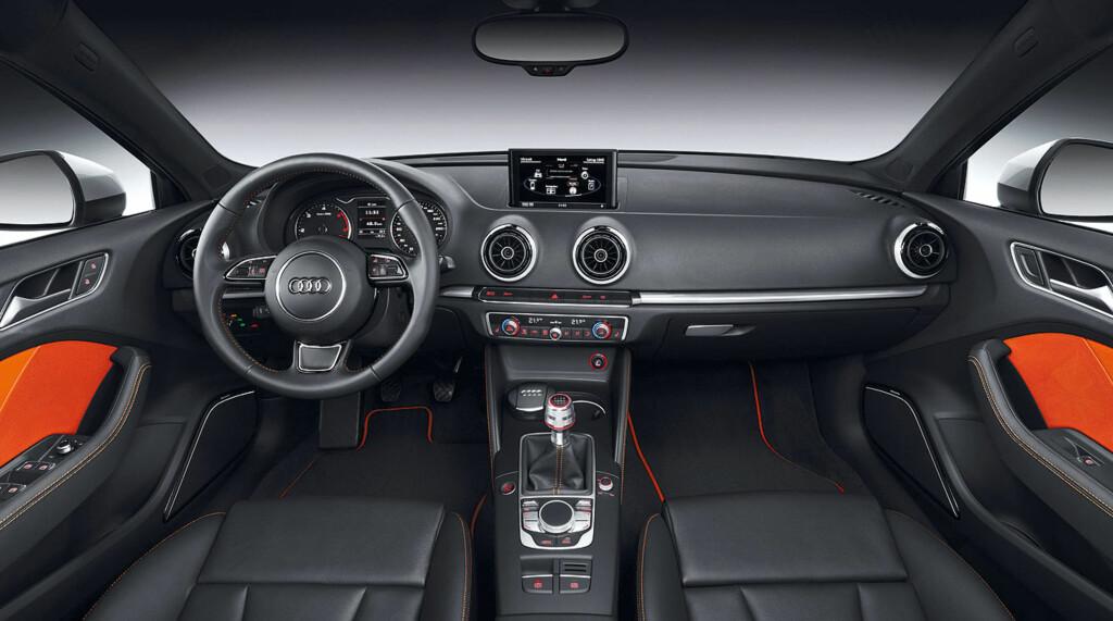 Slik er interiøret i nye Audi A3 Sportback.