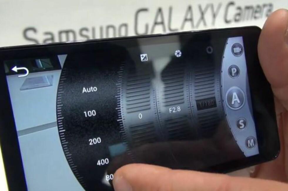 Du kan selvsagt la kameraet gjøre jobben automatisk, men hvis du vil styre selv, har du også manuelle valg via skjermmenyen. Foto: Per Ervland