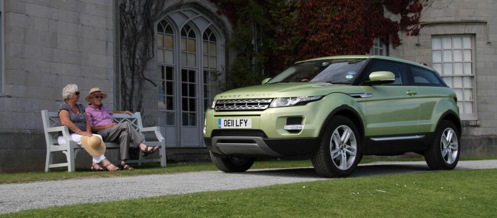 Nå er den her: Det har vært store forventninger til nye Range Rover Evoque. Da er det ekstra godt når bilen innfrir på alle måter.  Foto: Fred Magne Skillebæk