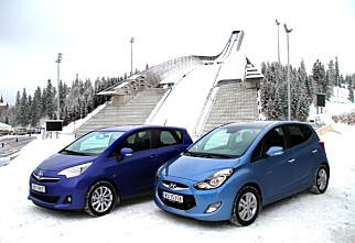 DUELL: Hyundai slår Toyota