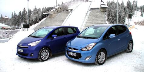 image: DUELL: Hyundai slår Toyota
