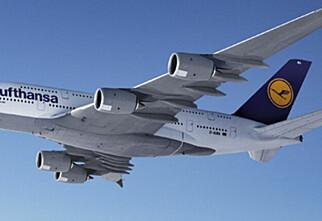 Nå er landingstidspunktet til A380-flyet bestemt