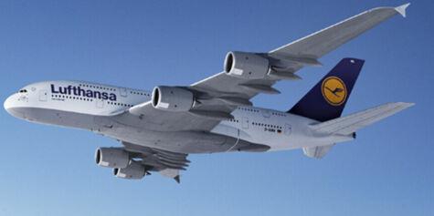 image: Nå er landingstidspunktet til A380-flyet bestemt