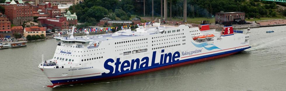 Stena Germanica III seiler mellom Göteborg og Kiel. Foto: Stena Saga