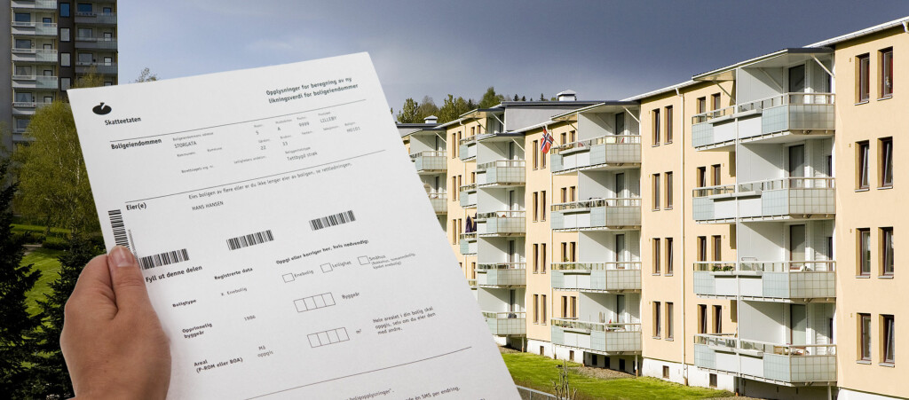 I disse dager sender Skatteetaten ut boligselvangivelsene. Foto: PER ERVLAND