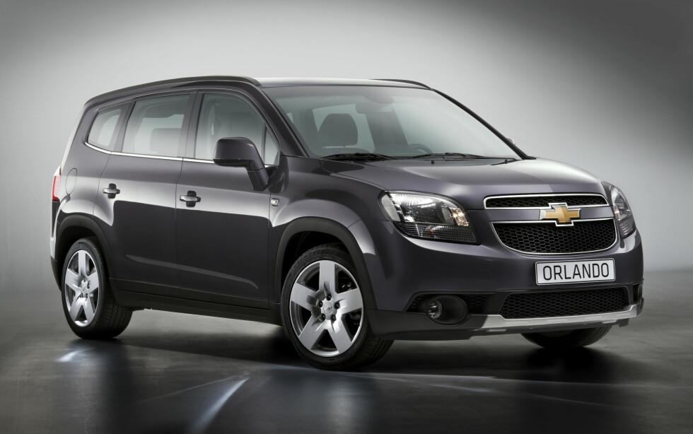 2011 Chevrolet Orlando Foto: GM