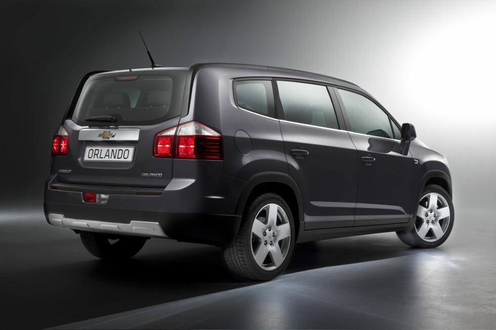 Chevrolet Orlando Foto: GM