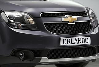Chevrolet utfordrer VW Touran
