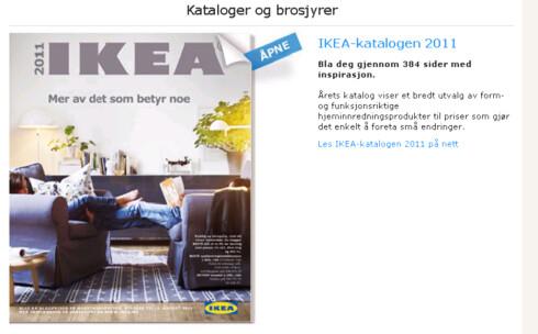 Ikea-katalogen inneholder tusenvis av produkter. De fleste er rimelige - noen er så rimelige at det er vanskelig å forstå hvordan Ikea kan tjene penger på dem. Foto: Ikea