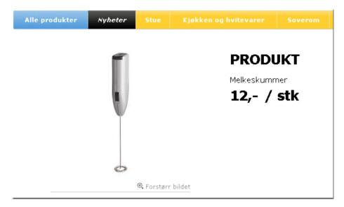 Elektrisk melkeskummer til 12 kroner. Nok et eksempel på de utrolige prisene. Foto: Ikea