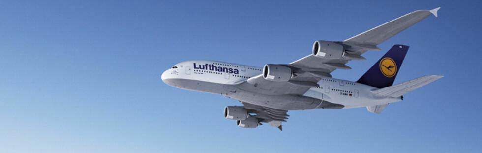 Det tyske flyselskapet Lufthansa er selskapet med flest tilfeller på den svenske svartelisten. Foto: Lufthansa