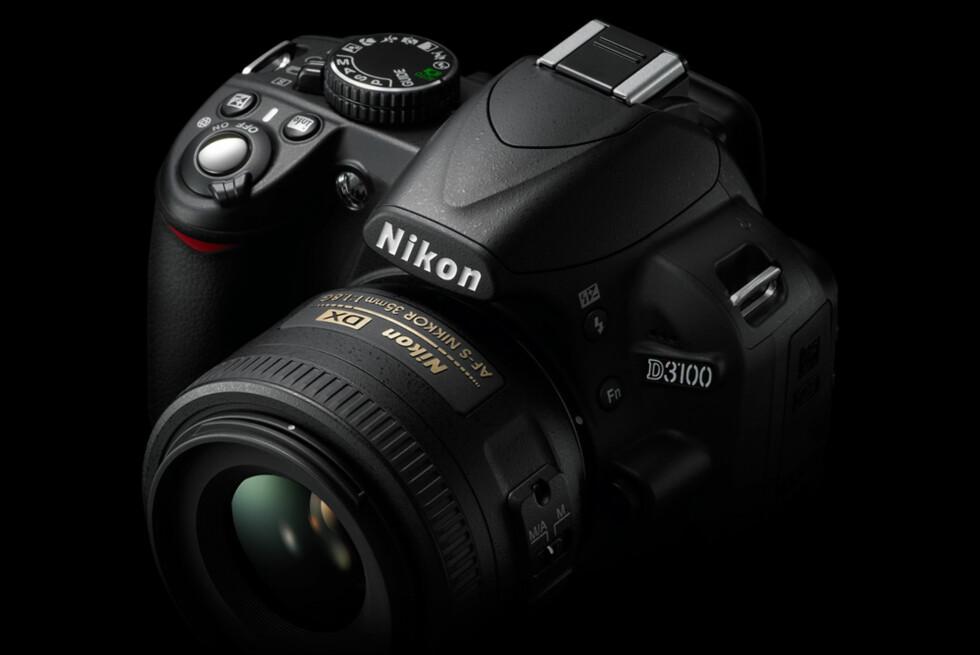 Nikon annonserer D3100