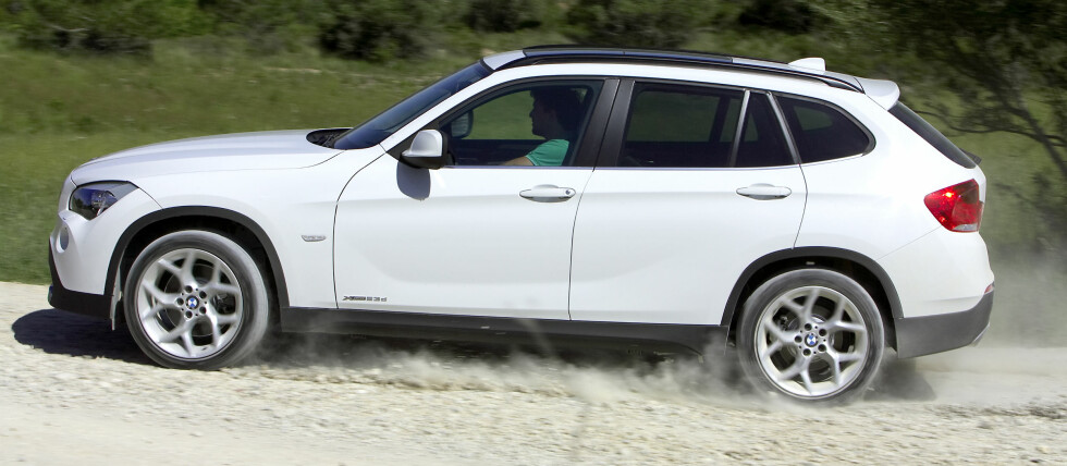 BMW X1 har fått en god start salgsmessig Foto: BMW