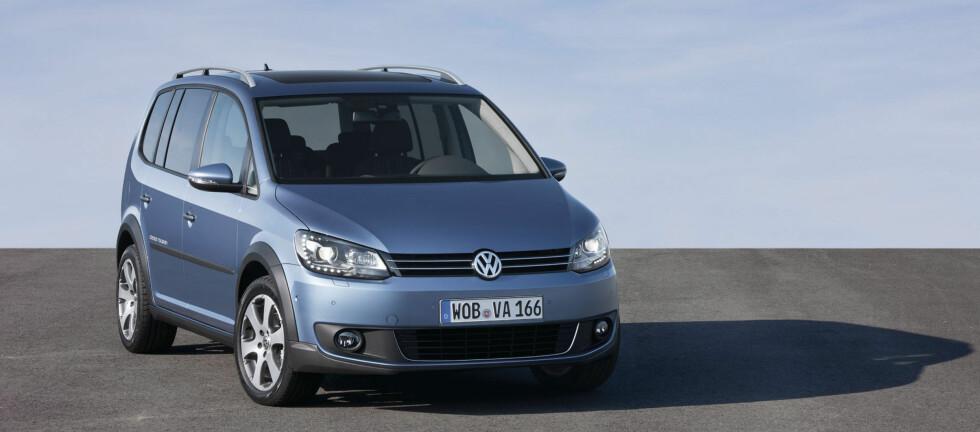 Den ekstra bakkeklaringen kan være kjekk å ha i Norge Foto: Volkswagen