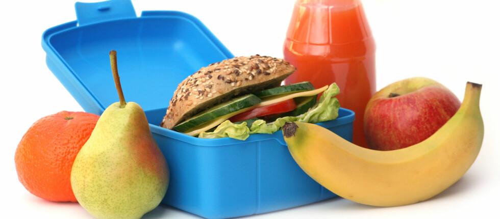 Frukt, grønt og grovt - pakket på en smakelig måte. Foto: Panther Media