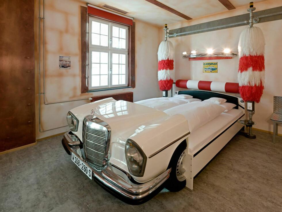 Temarom: Vaskehall Foto: V8 Hotel