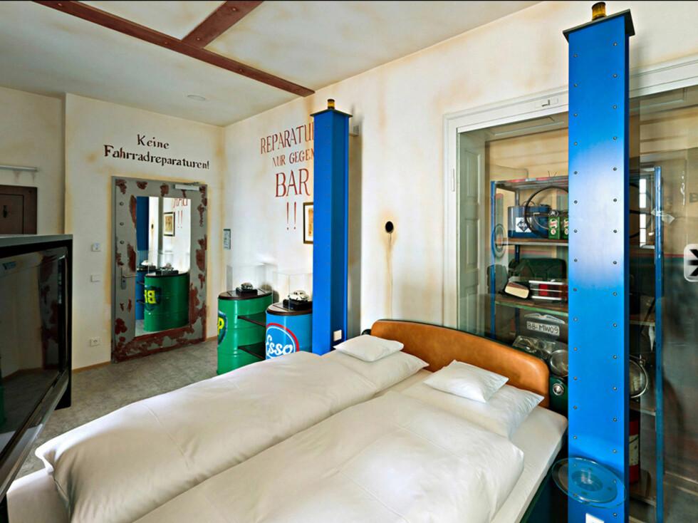 Temarom: Verksted Foto: V8 Hotel