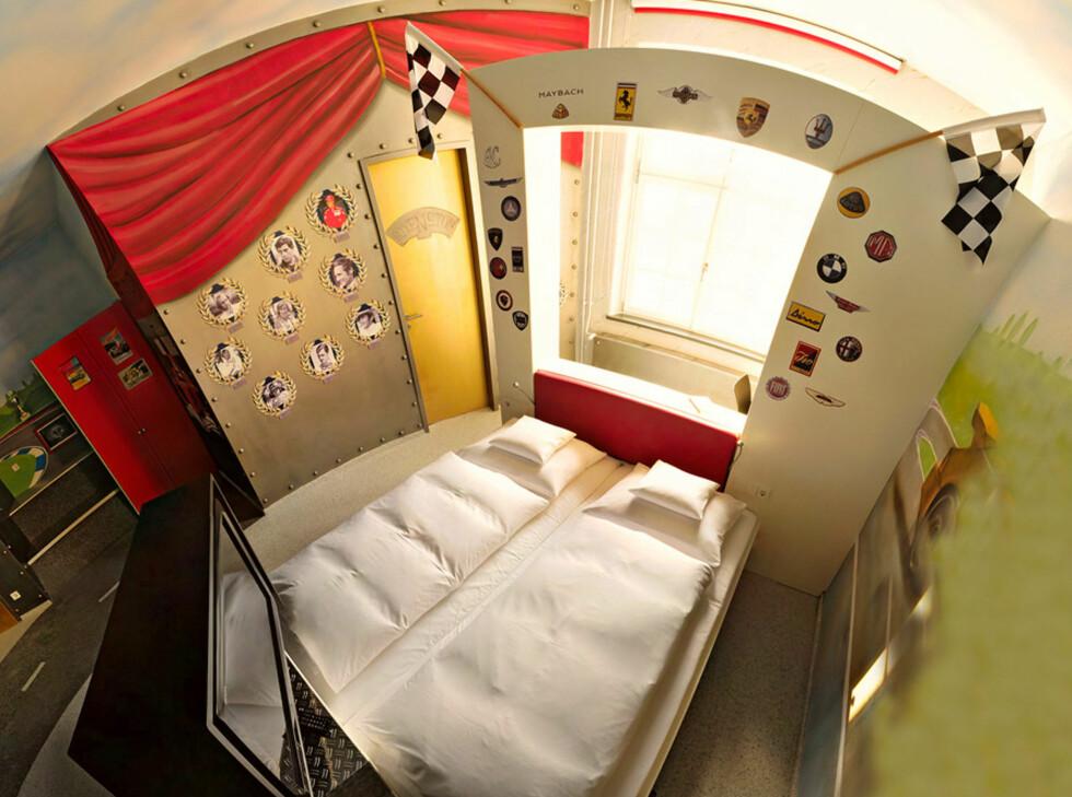 Temarom: F1-rom Foto: V8 Hotel