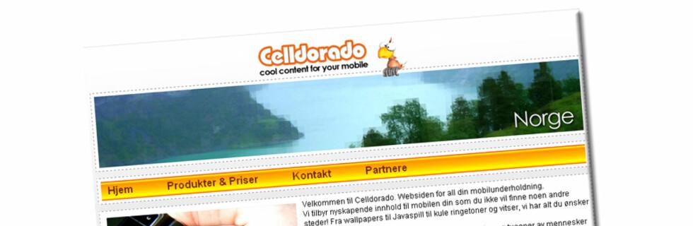 MÅ BETALE NESTEN 10 MILLIONER I BOT: Innholdsleverandøren Celldorado er blitt ilagt en millionbot etter at de skal ha brutt markedsføringslover i en rekke land i Europa. Foto: Celldoardo.com