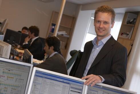 Seniorøkonom Bjørn Roger Wilhelmsen tror ikke renten skal ned. Foto: First Securities