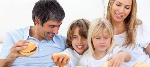 Foreldre velger fett foran frukt