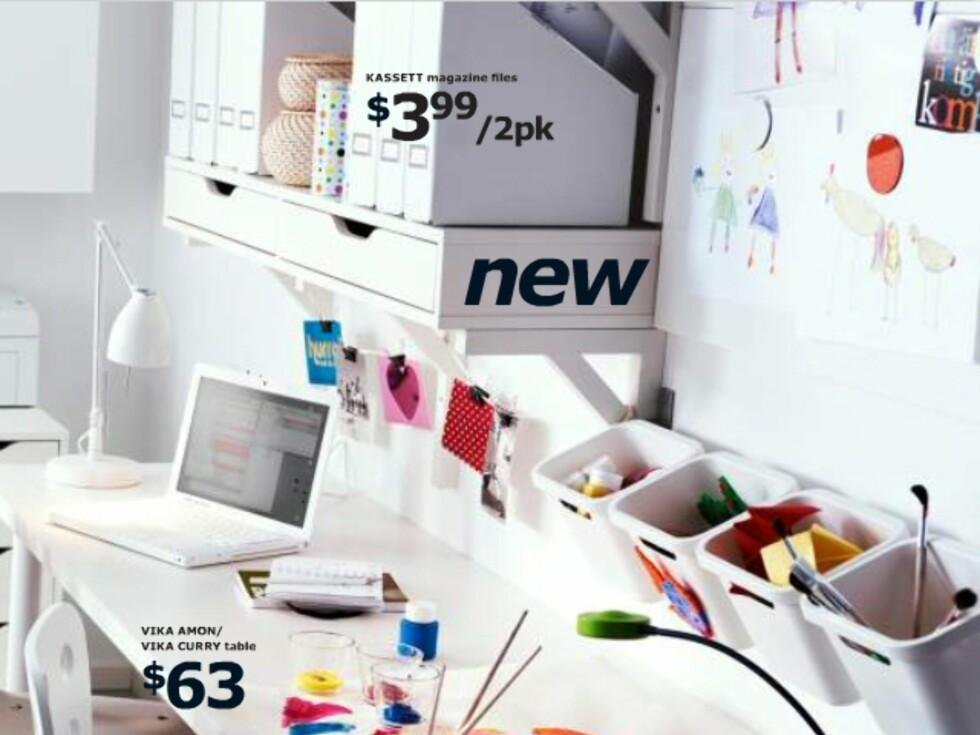 En av våre favoritter blant årets nyheter: Hylle med skuffer.  Foto: Ikea.com