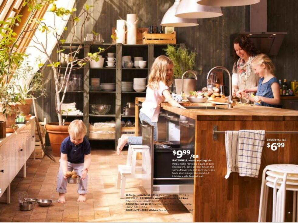 Rot på gulvet og krøllete håndklær til tross: Det er fortsatt et umiskjennelig Ikea-preg over bildene.  Foto: Ikea.com