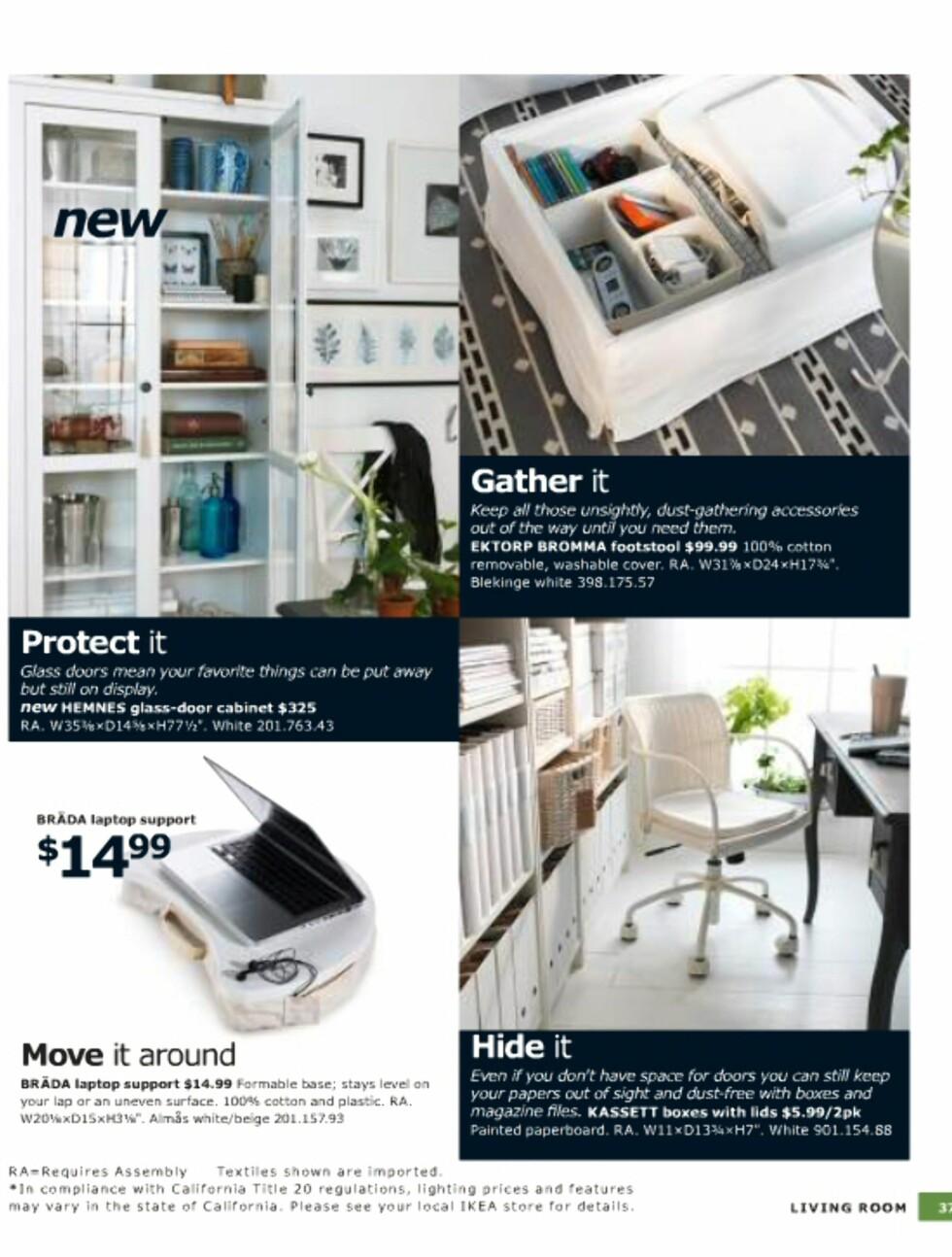 Rot i systemet? Ikea vet råd.  Foto: Ikea.com